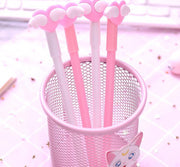 2pcs/set Heart Design Gel Ink Pen