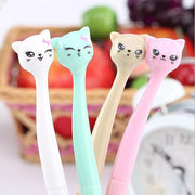 4PCS/Set Adorable Cats Gel Pen