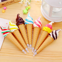 Ice Cream Ballpoint Pens School Supplies
