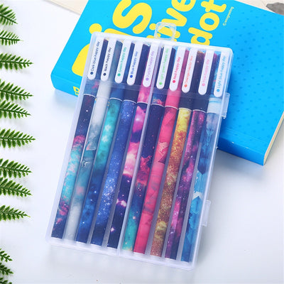 10pcs Set 0.38mm Color Ink Pens