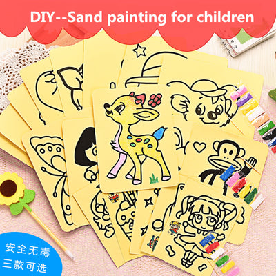 Kids Sand Art Painting 3 Sizes