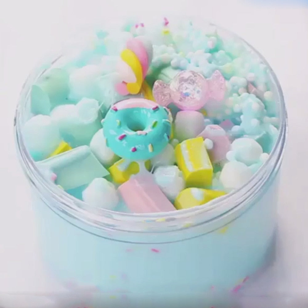 Soft Fluffy Slime Sprinkles on top!