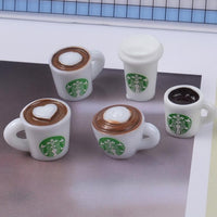 Mini Coffee Cup Slime Accessories