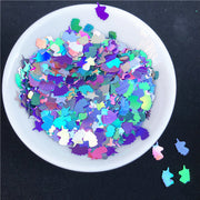 Unicorn Glitter Slice Filler Charms