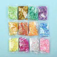 12PCS/Pack Shinny Beads Slime Accessories
