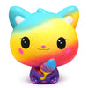Colorful Cat Slow Rising Squishies