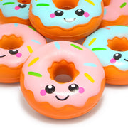 Smiling Face Donut Scented Squishies