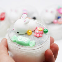 Squishy Animal Colorful Crystal Slime
