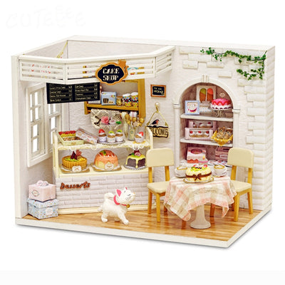 Mini Birthday Cake Adorable Doll House