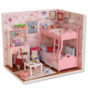 Wooden Bedroom Miniature