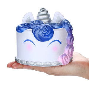 Slow Rising Galaxy Unicorcn Cake Scented Squishies