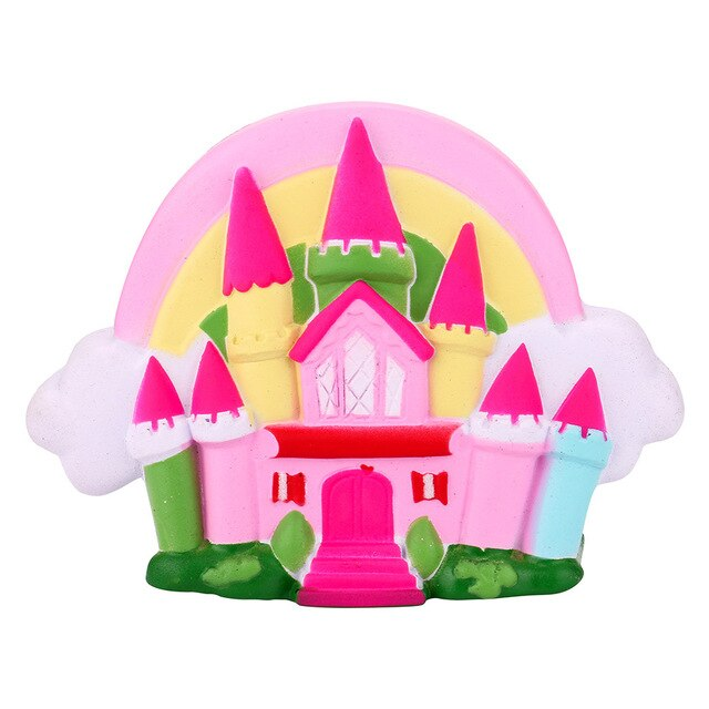 16cm Fairytale Castle Scented Squishies