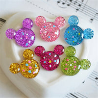 5pcs Mickey Crytal Donut Slime Accessories