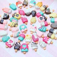 3pcs Ice Cream Slime Charms