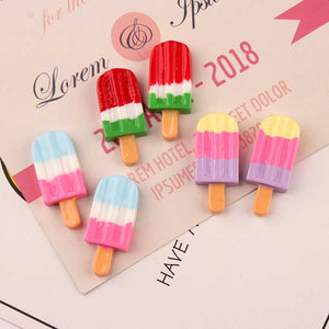 10pcs Yummy Popsicle Slime Accessories