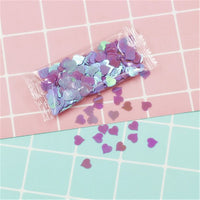 Letter Sequins Crystal Slime Accessories