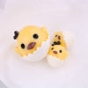 2pcs Eggshell Chick Slime Accessories