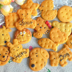 Animal Biscuit Slime Charms