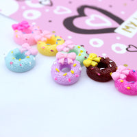 8pcs Yummy Donut Slime Charms