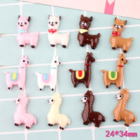 4pcs Adorable Animal Slime Accessorie
