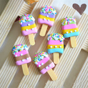 Popsicle Ice Cream Slime Accessories