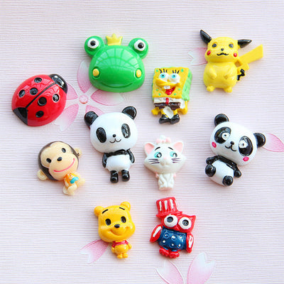 30pcs Cute Animal Slime Accessories