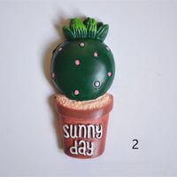 2pcs Succulent Plants Slime Accessories