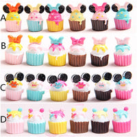30pcs Mini Cup Cake Slime Accessories