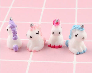 5pcs Cute Unicorn Slime Accessories