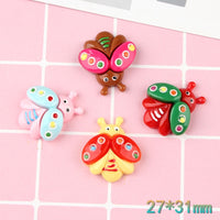 6pcs Butterfly Slime Accessories
