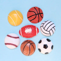 30pcs Sports Ball Slime Accessories