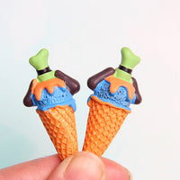 2pcs Ice Cream Cone Slime Charms
