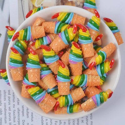 Rainbow Ice Cream Filler Accessories