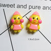 8pcs Adorable Duck Slime Accessories