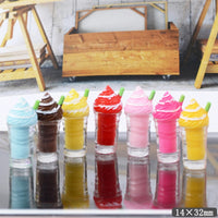 5pcs Ice Cream in Glass Slime Accessories