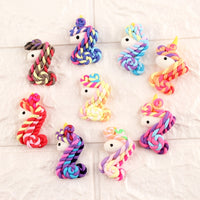 4pcs Adorable Unicorn Slime Accessories