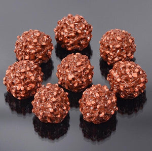 6pcs Chocolate Ball Slime Accessories