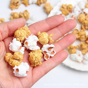 6pcs Popcorn Slime Accessories