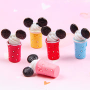 5pcs Ice Cream Cup Slime Accessories