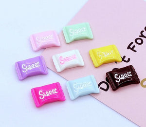 10pcs Sweet Candy Slime Accessories