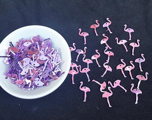 Purple Flamingo Filler Slime Accessories