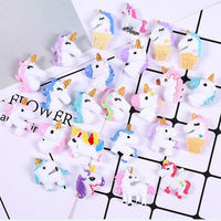 30pcs Candy Unicorn Slime Accessories