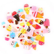 30pcs Yummy Ice Cream Slime Accessories