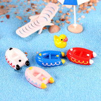 6pcs Inflatable Boat Slime Accessories