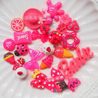 Adorable Fuchsia Pink Slime Charms