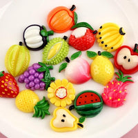 16pcs Simulated Fruit Filler Slime Accessories