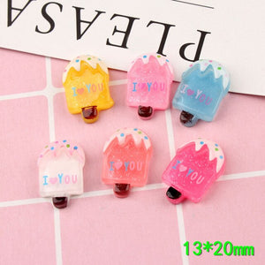 10pcs Popsicle Slime Accessories