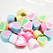 5pcs Heart Mallows Slime Accessories