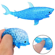 Spongy Silicone Bead Shark Squishies