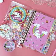 Sparkling Loose Leaf Notebook Set